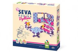 Stavebnice SEVA RODINA Bývame plast 564ks v krabici 35x33x7cm RM_40012702
