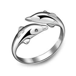 Inel reglabil - delfin