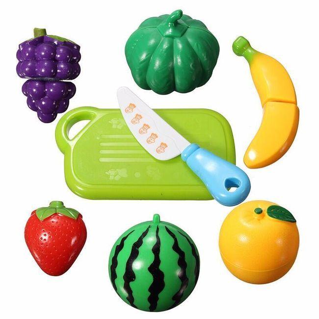 Plastové ovoce a zelenina pro malé pomocníky v kuchyni 1