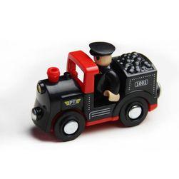 Dřevěná lokomotiva XK5