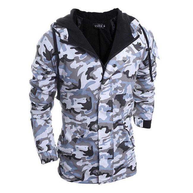 Maskirna zimska jakna 1