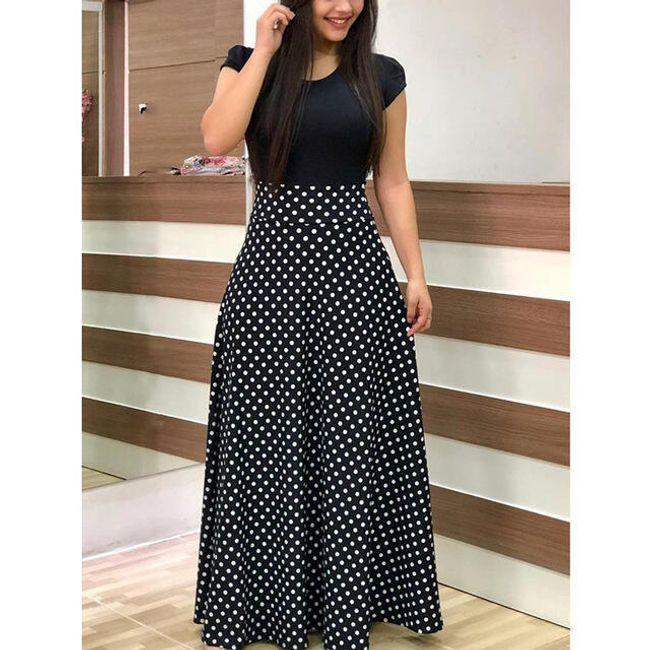 Dlouhé dámské šaty Mirella 1