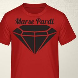 Marse Pardi triko červené