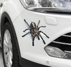 3D стикер за кола