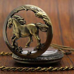 Zegarek kieszonkowy z koniem