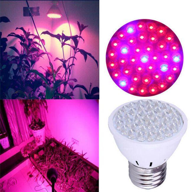 Stimulirajuća sijalica za biljke - 38 LED lampica 1