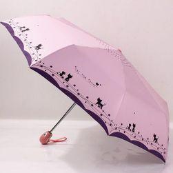 Зонт с милыми кошечками