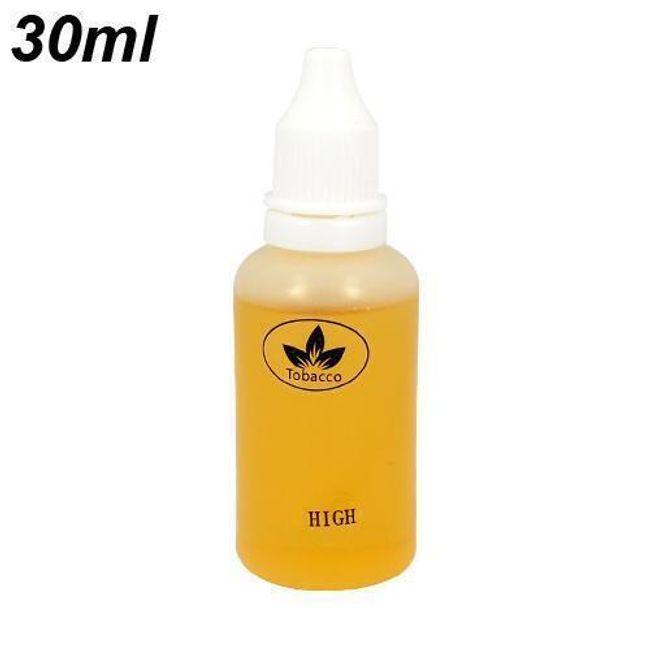 30ml E-liquid, Tabáková příchuť, vysoký obsah nikotinu 1