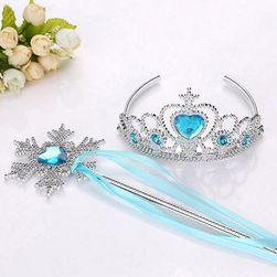 Korona hercegnőknek varázspálcával - 5 szín