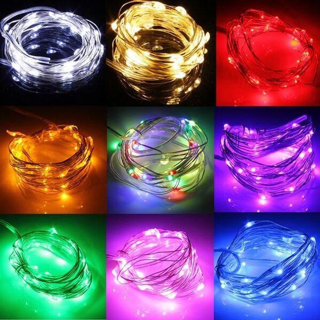 Novoletni LED trak - 3 m, več barv 1