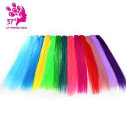 Umělý pramen barevných vlasů