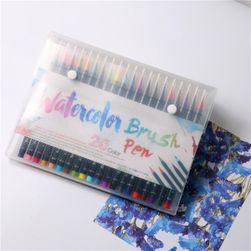 Akvarelové fixky - sada 20 kusov