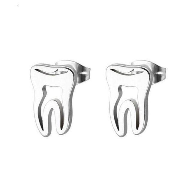 Minđuše u obliku zuba 1
