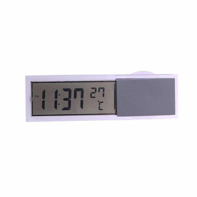 LCD термометър и часовник за автомобил Taylor 1