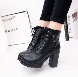 Dámské boty na podpatku Chicea