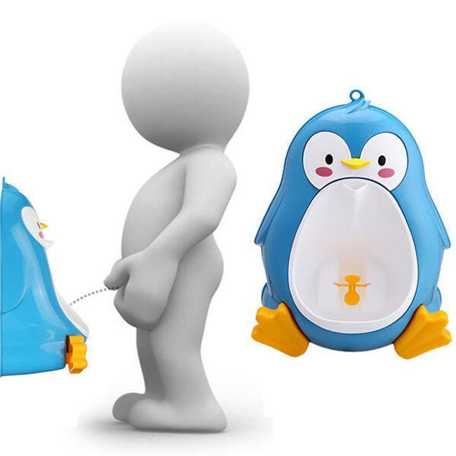 Детский писуар в виде пингвина 1