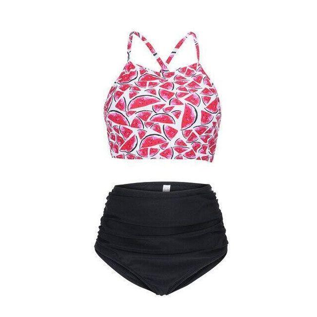 Ženski kupaći kostim sa višim strukom Mai 1