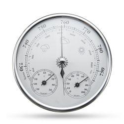 Analóg nyomásmérő,hőmérő és higrométer a falon