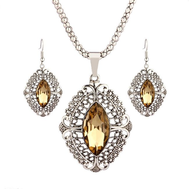 Sada šperků v retro stylu 1