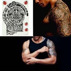 Переводная татуировка в стиле Маори