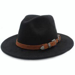 Pălărie cowboy cu curelușă - 10 culori