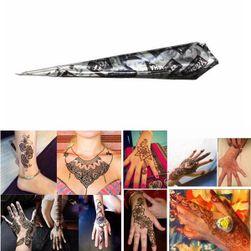 Crna henna privremena tetovaža u tubi