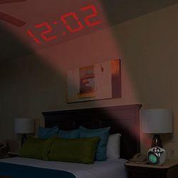 Budzik z projekcją czasu