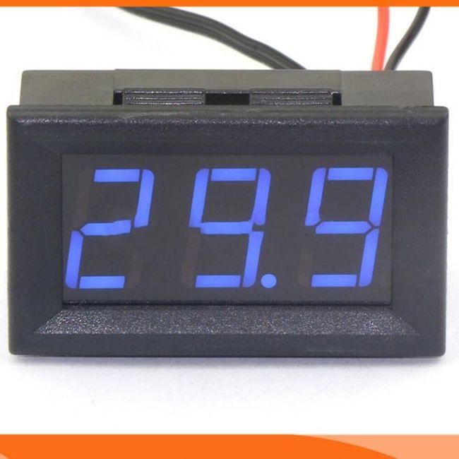 Spoljni termometar sa LED osvetljenjem 1