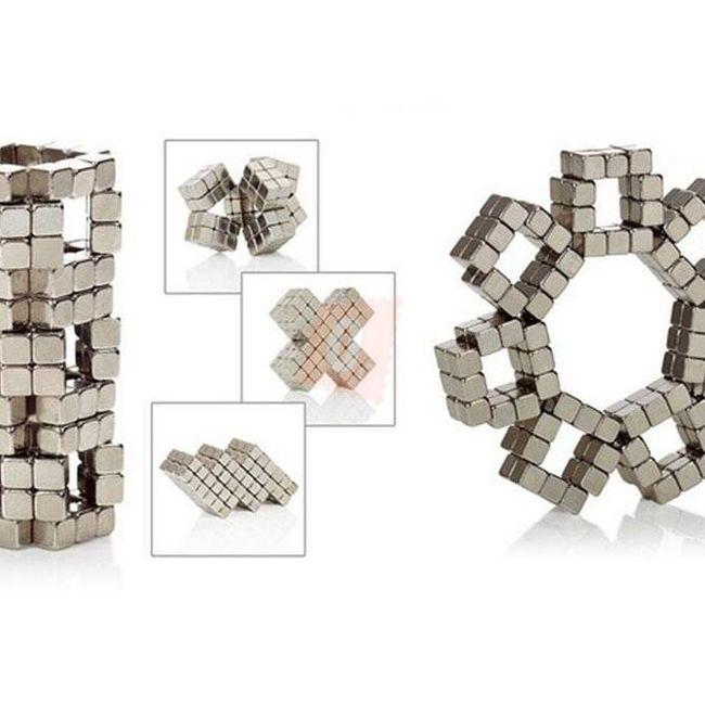Magic Cube układanka magnetyczna - 125 ks 4mm magnesów 1
