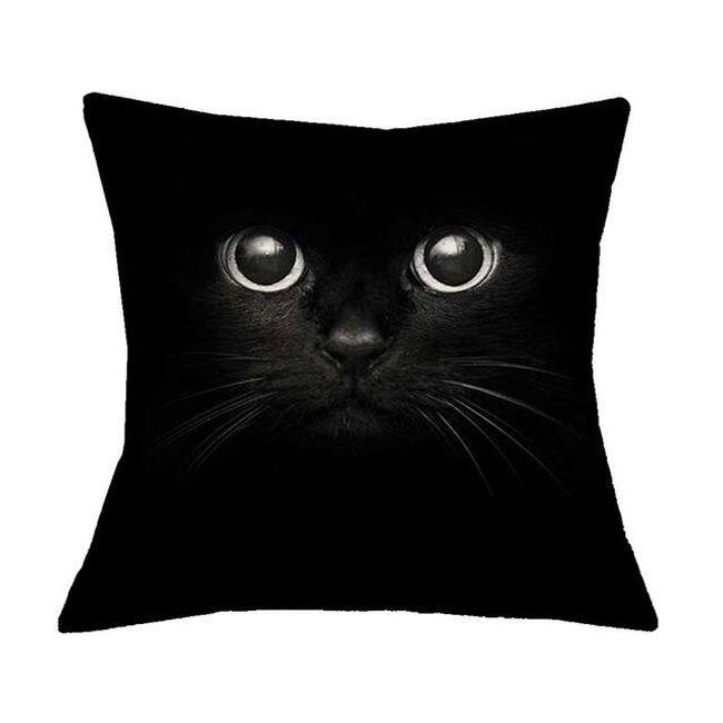 Prevleka za blazine z mačkami - 16 različic 1