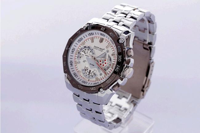 Stylové pánské hodinky z nerezové oceli 1
