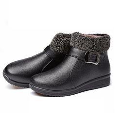 Kotníkové zimní boty