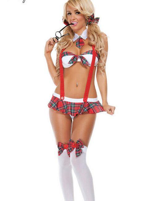Эротический костюм - Школьница 1