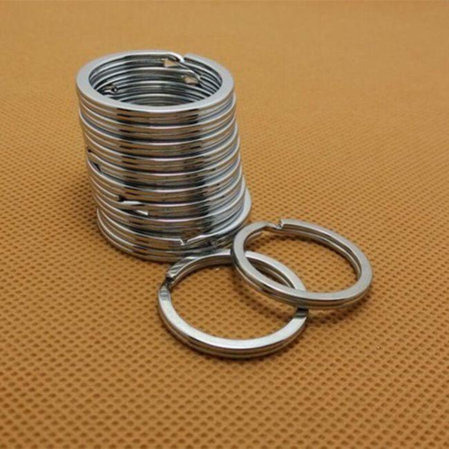 10 kosov obročev za ključe 1