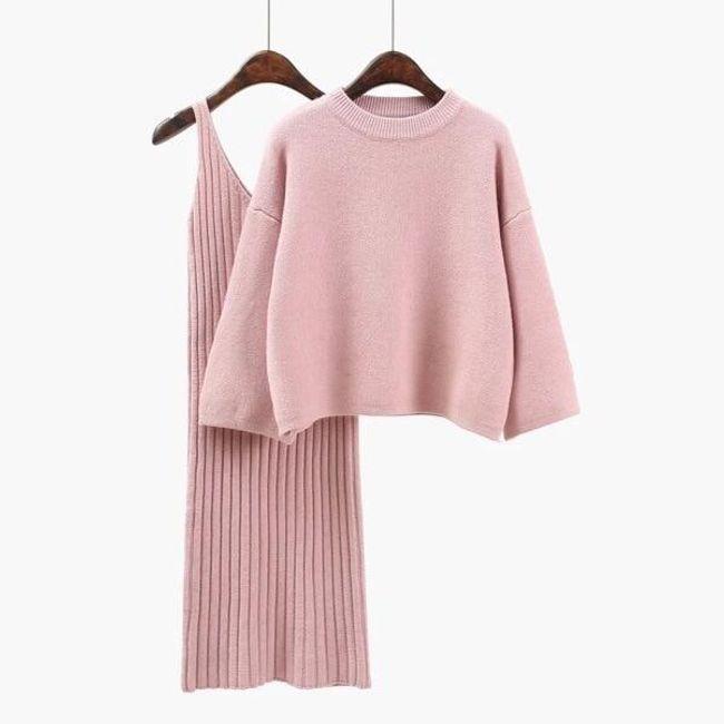Set - šaty a svetr Alivia 1