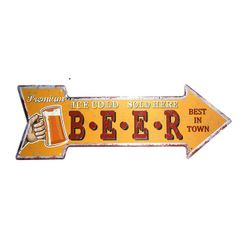 Metal retro işareti B06196