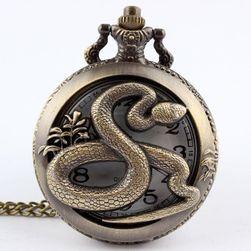 Zegarek kieszonkowy z motywem węża