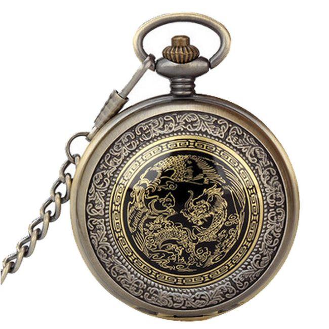 Kapesní hodinky s orientálními motivy 1