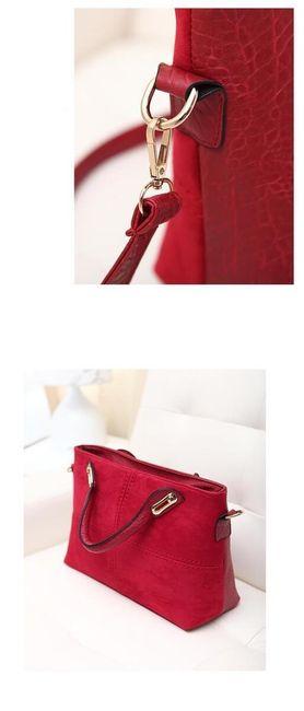 Kézitáska  luxus kivitelben - 3 szín
