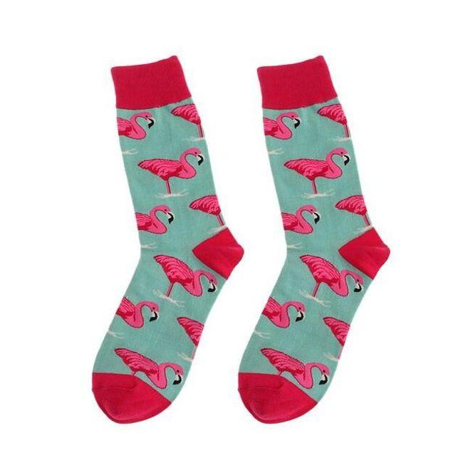 Élénk színű zokni - 6 változat