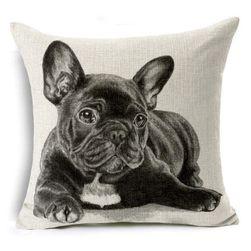 Poszewka na poduszkę z psem - 16 wariantów