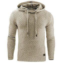 Férfi kapucnis pulóver - 5 változat