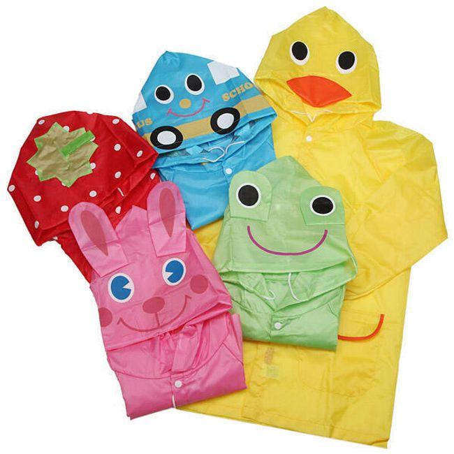 Veselé pláštěnky pro děti - na výběr z 5 provedení 1