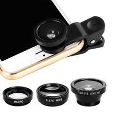 Комплект объективов для смартфонов 3A