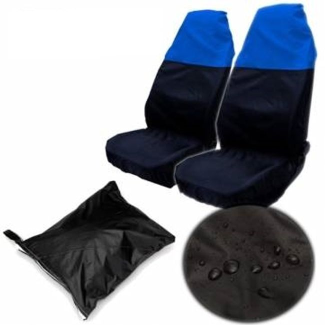 Modro-črne nepremočljive univerzalne prevleke za avtomobile 1