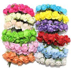 Голям комплект от 144 декоративни изкуствени рози