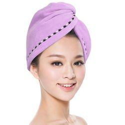 Rychleschnoucí ručník na vlasy - 3 barvy