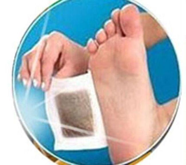 Detoks obliži za stopala 1