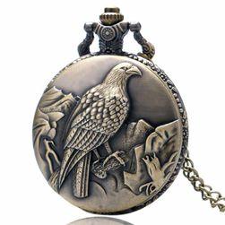 Zegarek kieszonkowy z motywem orła
