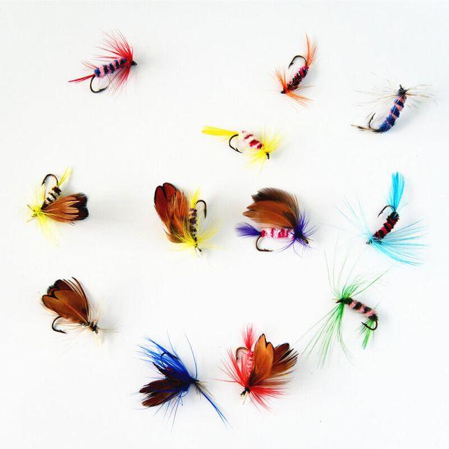 Set umetnih vab za muharjenje - 12 kosov 1